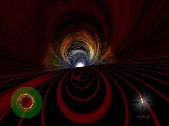 Vistas desde el interior de un agujero negro