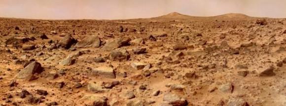 Panorámica de Marte