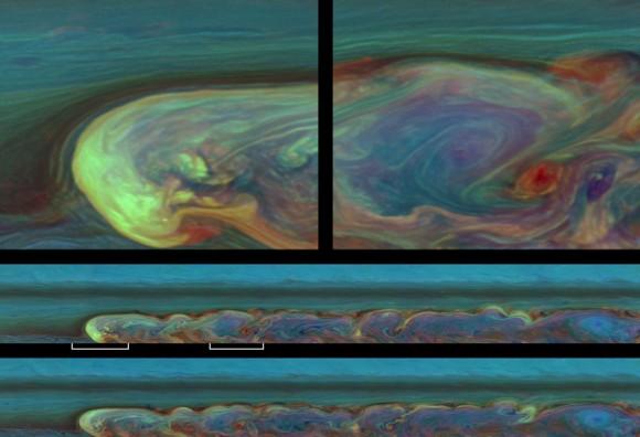Tormenta de Saturno